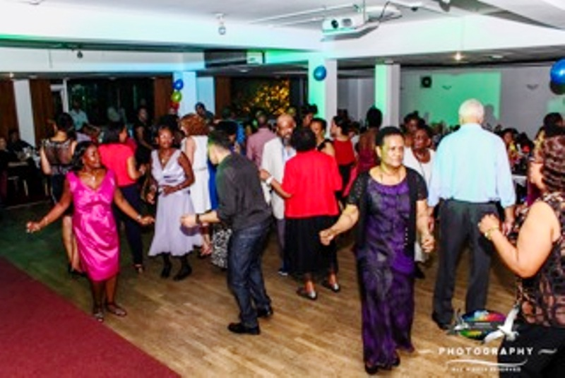 Seychellois in the UK enjoying themselves during the event