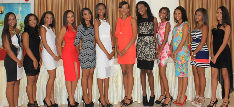 Miss Seychelles contestants