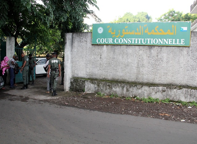 Ruling: The Constitutional Court building in Comoros