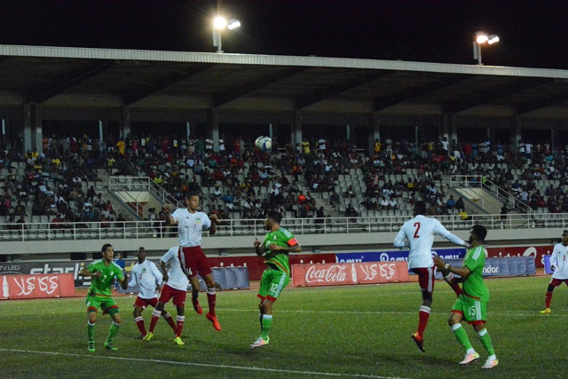 Doing their best: But Seychelles lose qualifying match