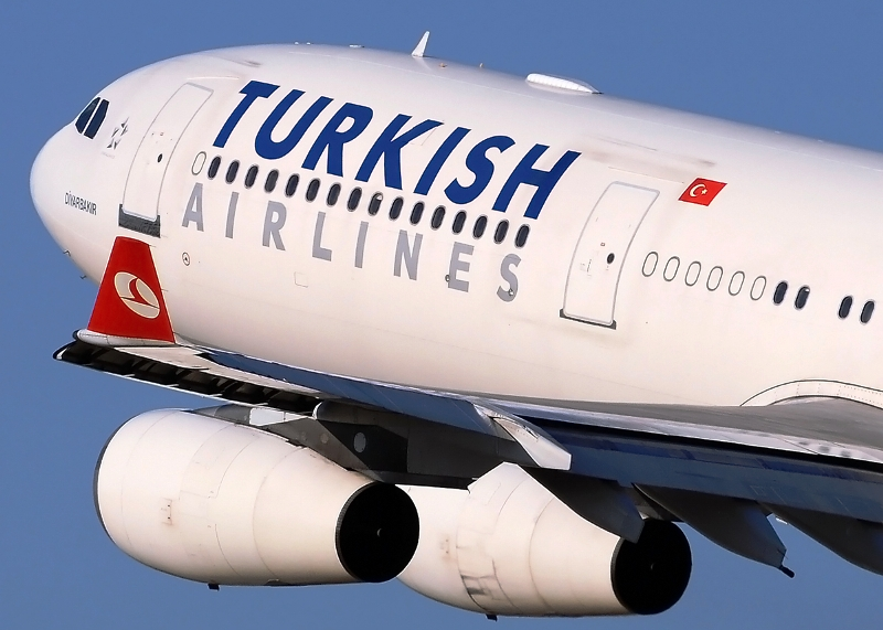 Award winner: Turkish Airlines which operate the Airbus A330-200