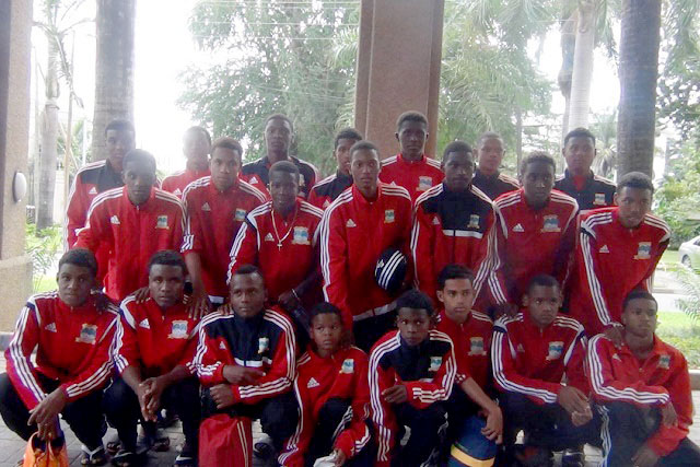 Seychelles Under-17 football team