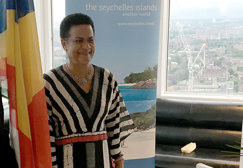 "Pride: High Commissioner Marie-Pierre Lloyd said, ""We have made great achievements... and met challenges head on"""