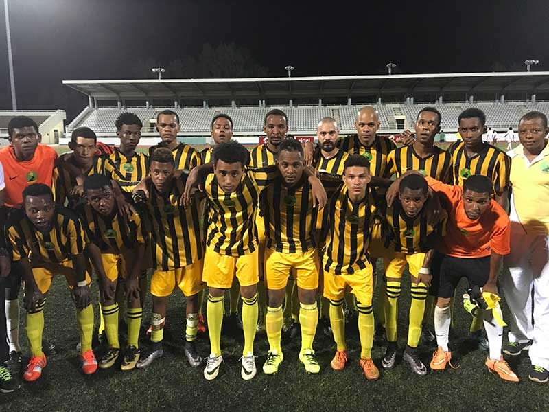 Challengers: The Real Maldives squad and trainers