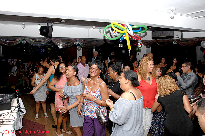 Memorable: Revellers had a great time