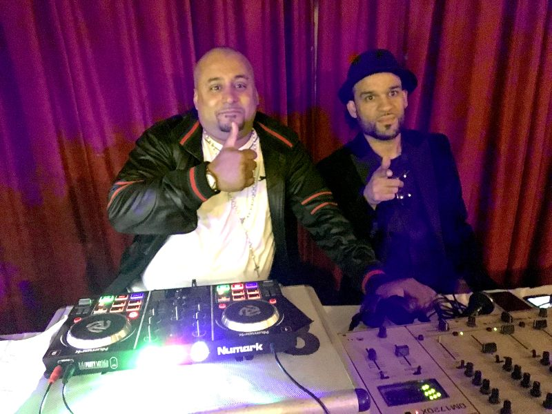 Brilliant : DJs Kenny B and R Vidot