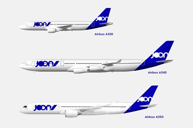 "New opportunities: The Air France ""Joon"" flights are due to start in May (Photo: Courtesy of SNA)"