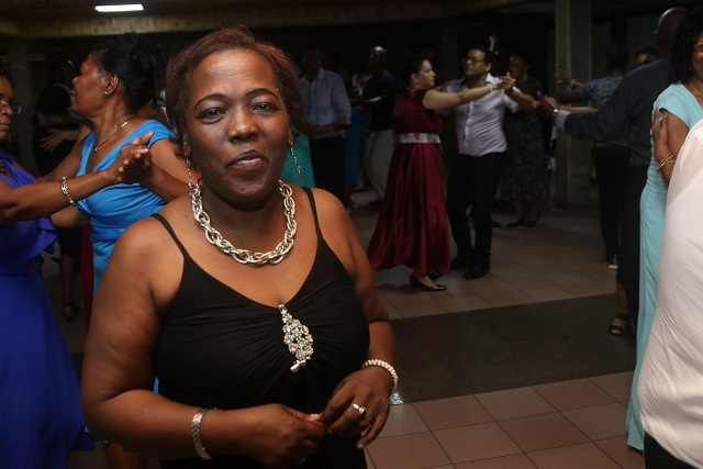 Dancing queen: Marietta Matombe who is better known as Madam Kanmtole