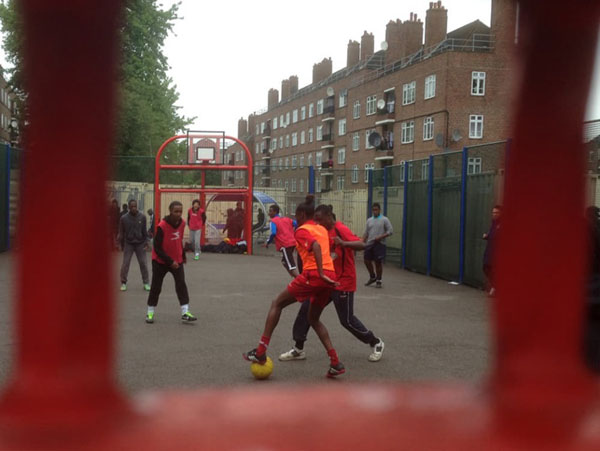Football Cage Culture: How youngsters hone their sporting skills in London suburbs