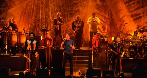 UB40 performing in Barcelona