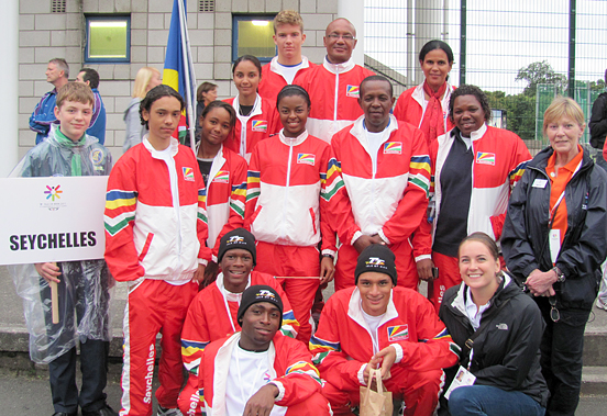 Seychelles Commonwealth Games Team Members